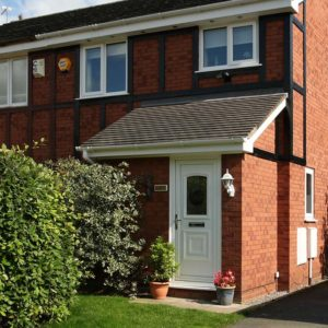 Roofline installation with replacement gutter and fascias for a fresh look