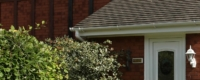 Replacement uPVC gutter for house