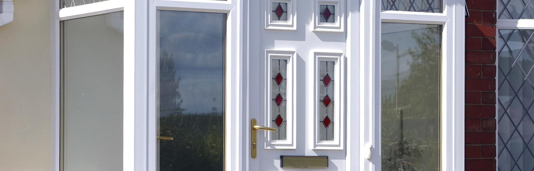 Pvcu front and back doors in bristol associated windows for Upvc french doors bristol