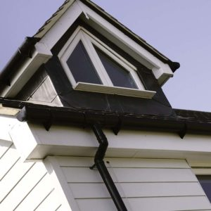 Replacement gutter, fascias and soffit