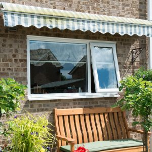 uPVC casement window installation
