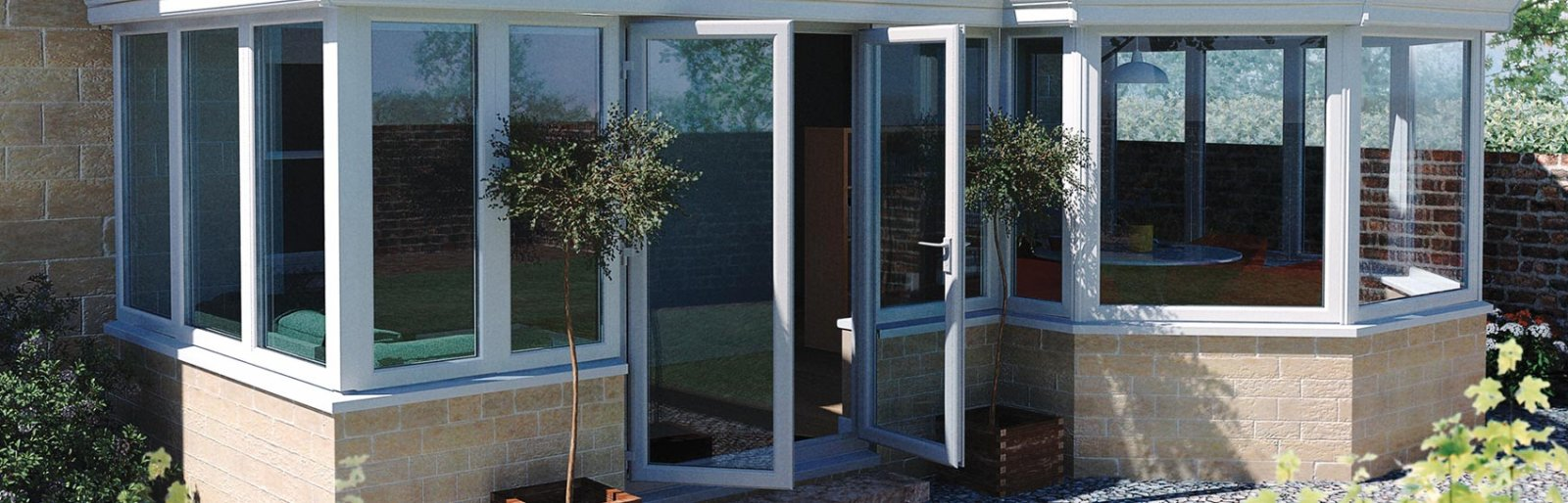 Classic patio and french doors in bristol associated windows white upvc french door for a conservatory rubansaba