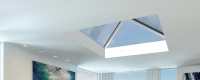 roof lantern interior view from an extension