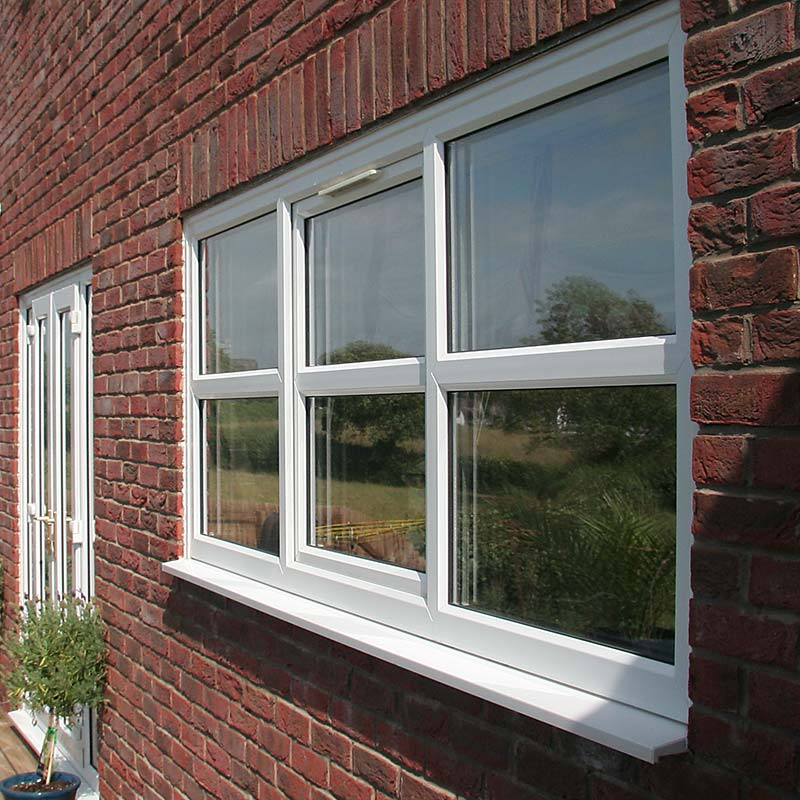 Double glazing Bristol -Tilt and turn PVCu window external view