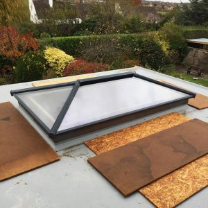 roof lantern from the exterior