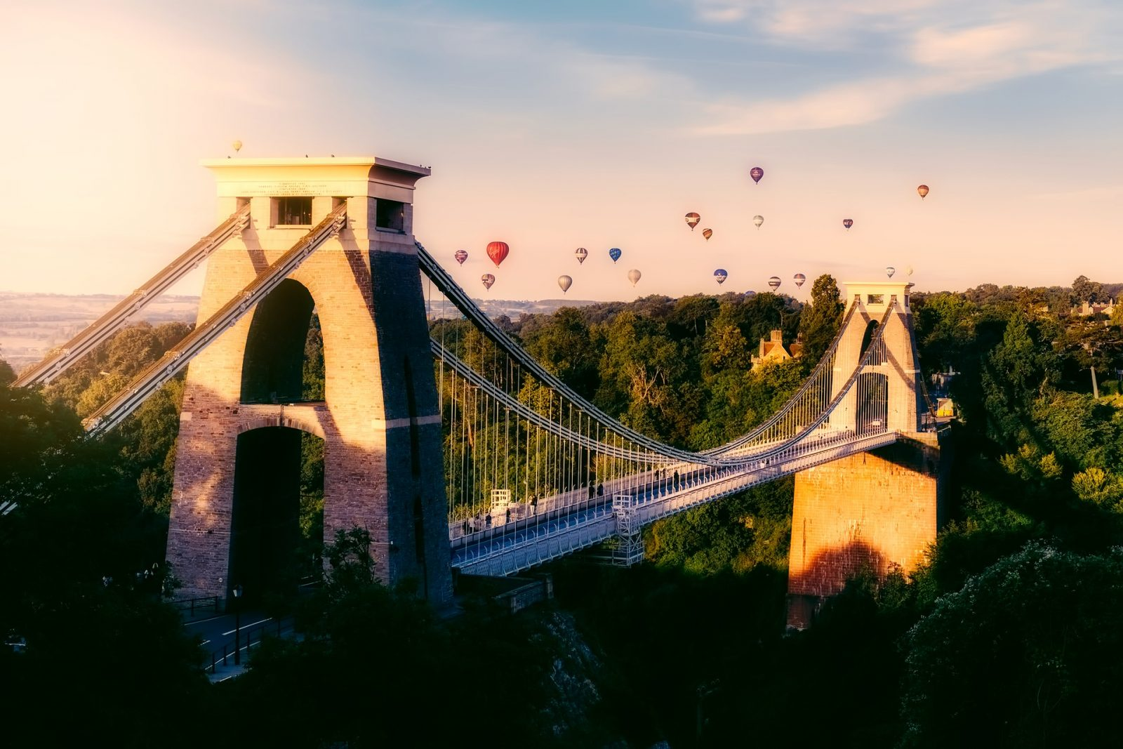 Bristol clifton suspension bridge