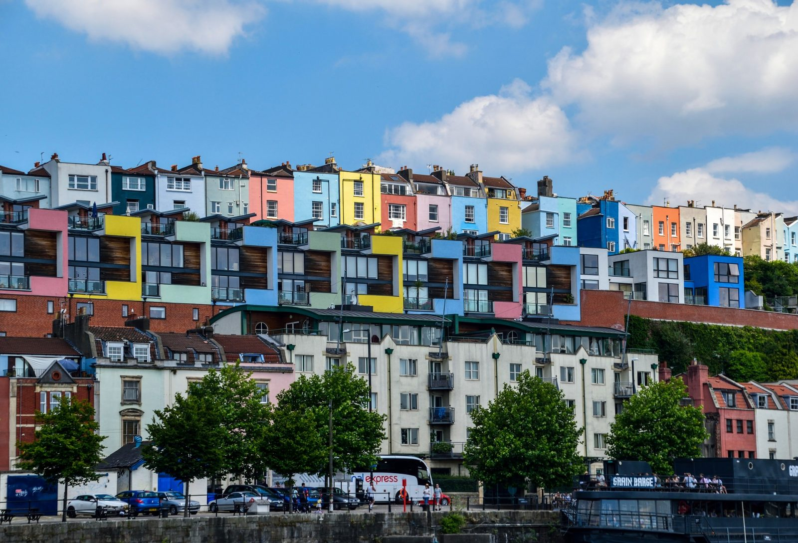 Bristol colourful houses
