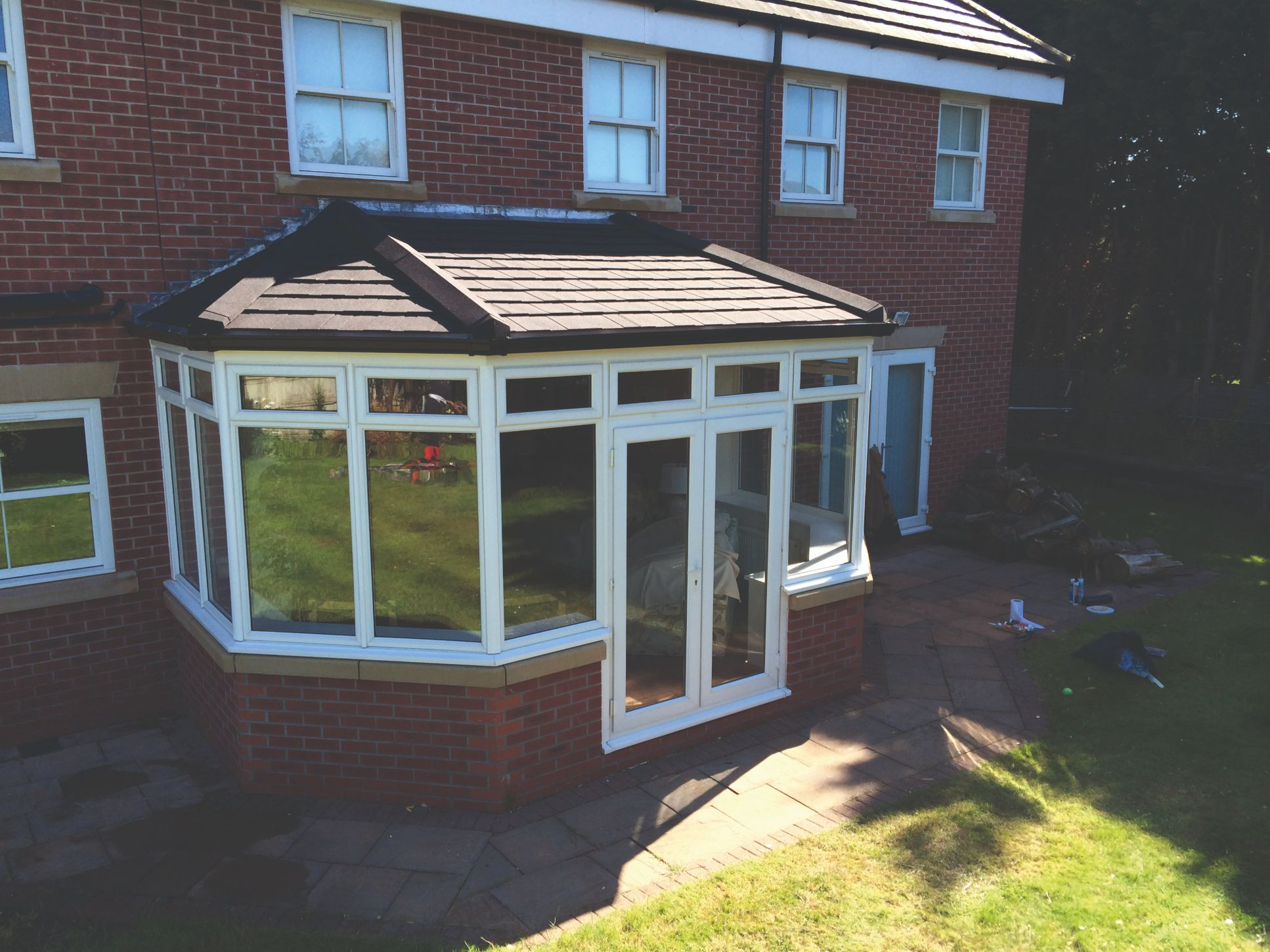 guardian tiled conservatory roofs bristol