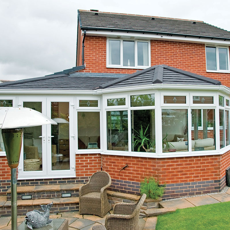 tiled roof conservatory filton